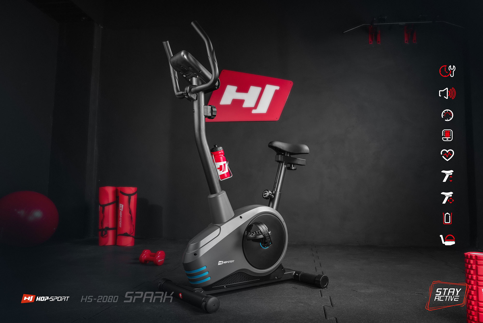 Magnetyczny rower HS-2080 Spark