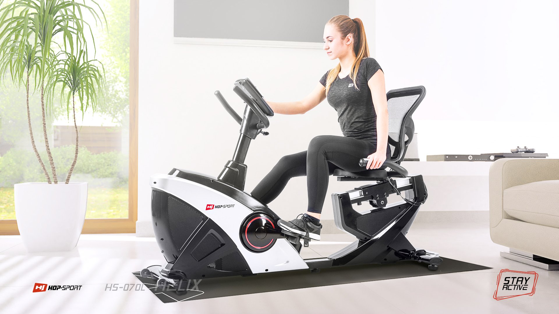 Rower poziomy HS-070H Helix