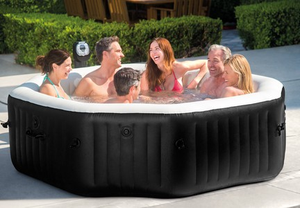 PureSpa Jet & Bubble Deluxe Intex 28456 6 osobowe