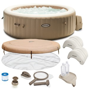 PureSpa Bubble Massage Intex 28426 4 osobowe