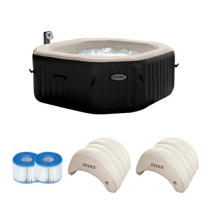 PureSpa Jet & Bubble Deluxe Intex 28454 4 osobowe