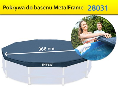 Pokrywa do basenu Metal Frame 366 cm Intex 28031
