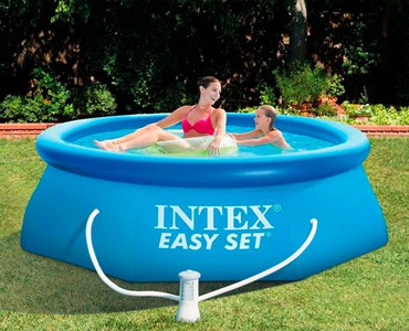 Basen Intex 28112 Easy Set  244 cm x 76 cm z pompą