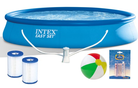 Basen Intex 28142 Easy Set  396 x 84 cm z pompą