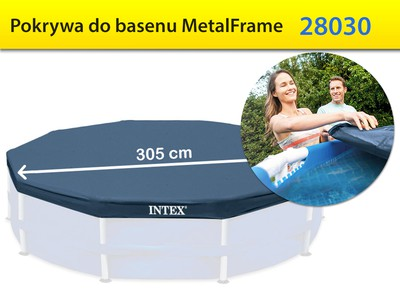 Pokrywa do basenu Metal Frame 305 cm Intex 28030